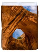 Bowtie Arch Near Arches National Park - Utah Duvet Cover