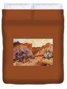 Box Canyon Duvet Cover