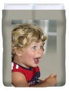 Boy Surprise Duvet Cover
