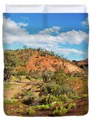 Bracchina Gorge Flinders Ranges South Australia Duvet Cover