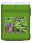 Bracken Fern Meadow Duvet Cover