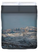 Bradost In The Winter Duvet Cover