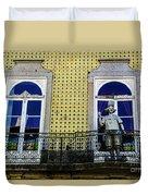 Braga Balcony Duvet Cover