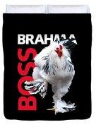 Brahma Boss T-shirt Print Duvet Cover