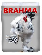 Brahma Breeders Rock Red Duvet Cover