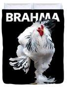 Brahma Breeders Rock T-shirt Print Duvet Cover