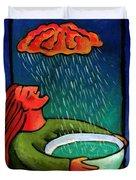 Brain Storm Painting 57 Duvet Cover