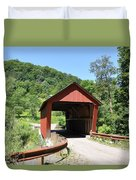 Braley Covered Bridge Duvet Cover
