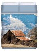 Bramble Bound Barn Duvet Cover