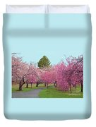 Branch Brook Cherry Blossoms II Duvet Cover