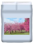 Branch Brook Cherry Blossoms Duvet Cover