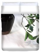Branch, Gourd And Shadows Duvet Cover