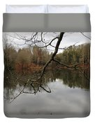 Branch And Water Duvet Cover