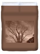 Branches Against Sepia Sky H   Duvet Cover
