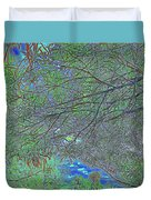 Branches And Sky Duvet Cover