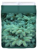 Branches Of Blue Spruce Duvet Cover