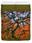 Branching Out In Autumn Duvet Cover
