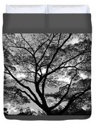 Branching Out In Bw Duvet Cover