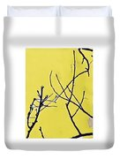 Branching Out Snowscape 3 Duvet Cover