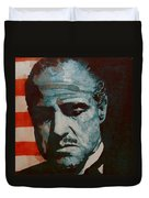 The Godfather-brando Duvet Cover