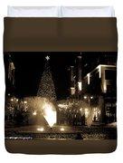 Branson Landing Christmas  Duvet Cover