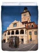 Brasov Town Hall Duvet Cover