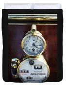 Brass Auto-meter Speedometer Duvet Cover