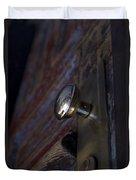 Brass Door Knob I Duvet Cover