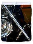 Brass Era Headlamp Duvet Cover