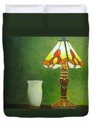 Brass Lampshade Duvet Cover