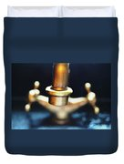 Brass Water Duvet Cover