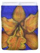 Brassolaeliocattleya Hybrid Duvet Cover