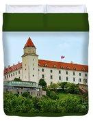 Bratislava Castle One Duvet Cover