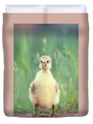 Brave New Baby - Gosling Ready To Conquer The World Duvet Cover