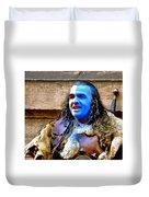Braveheart Busker In Edinburgh Duvet Cover