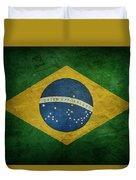 Brazil Flag Duvet Cover