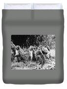 Brazil: Monkeys Duvet Cover