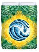 Brazil Wave 01 Duvet Cover