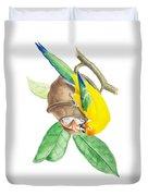 Brazilian Parrot Duvet Cover