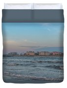 Breach Inlet Water Scape Duvet Cover