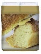 Break Bread Duvet Cover