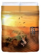 Breakdown Duvet Cover