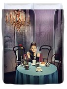 Breakfast At Tiffany's Duvet Cover