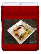 Fruit Salad For Breakfast  Duvet Cover