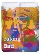 Breaking Bad Watercolor Duvet Cover