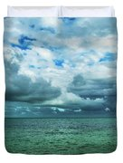 Breaking Clouds In Key West, Florida Duvet Cover