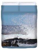 Breaking Waves Duvet Cover