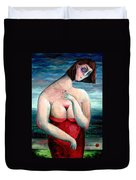 Breast Wine Duvet Cover