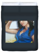 Breasts--america The Addicted Series Duvet Cover