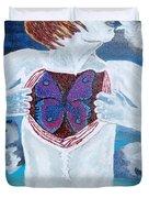 Breathe Deep Duvet Cover by Lisa Brandel